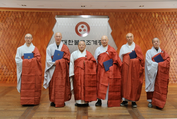 임명 받은 스님들 단체기념사진.JPG