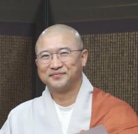 [꾸미기]총무원장스님 문화부장 오심스님 기념사진.JPG