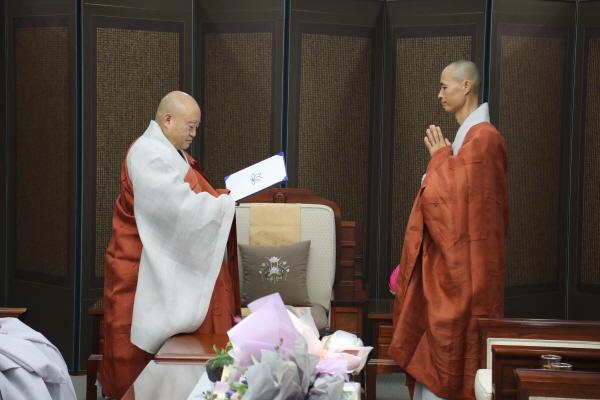 [꾸미기]불교중앙박물관 사무국장 도헌스님 임명장 수여.JPG